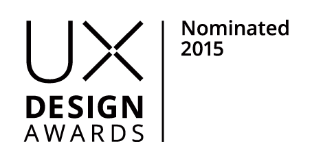The Techno Creatives got nominated for Bokios excellent User experience design in the UX Design Award!