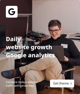 Daily website growth Google analytics.png