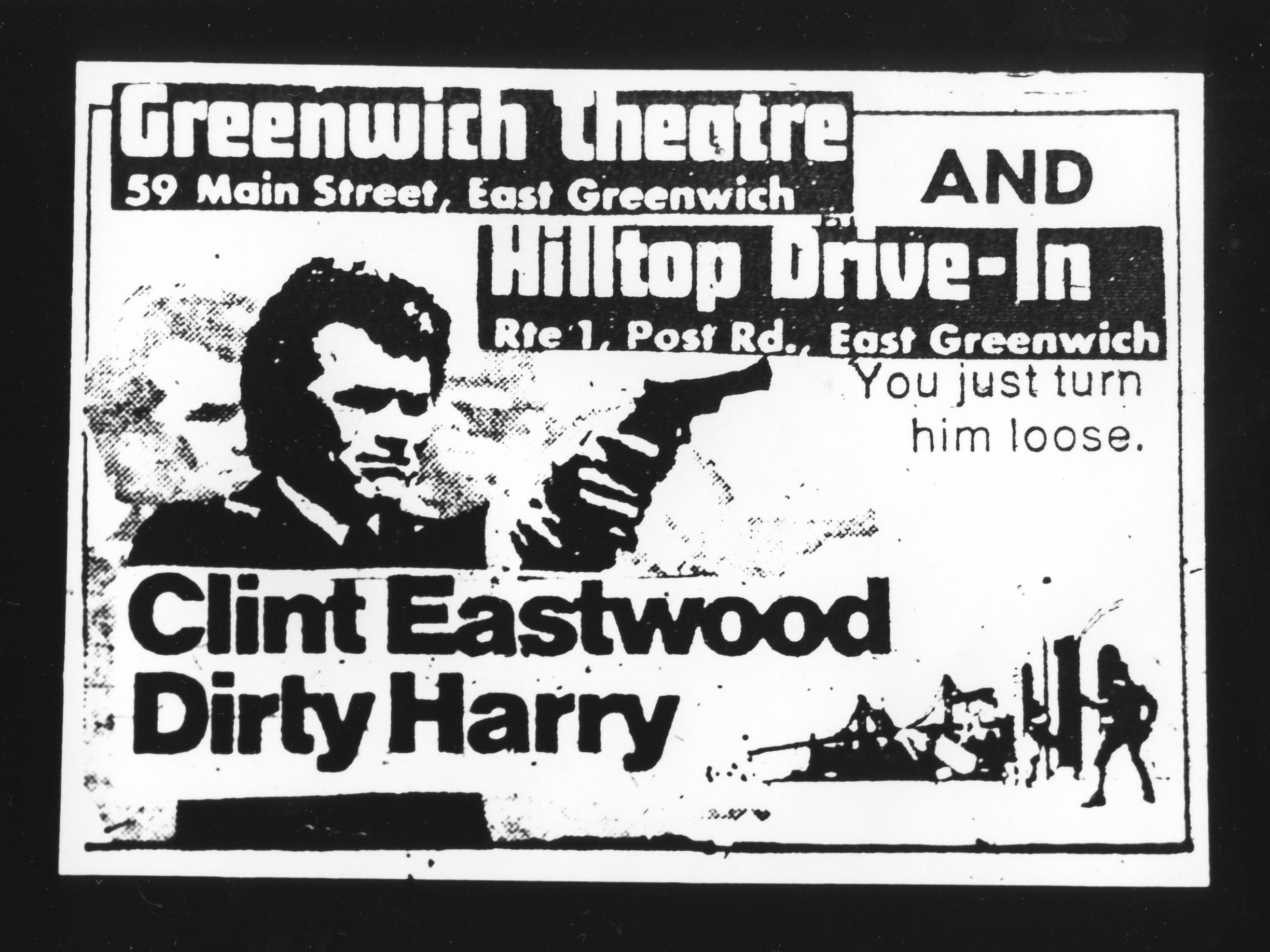 Dirty Harry - Gelatin Silver Print