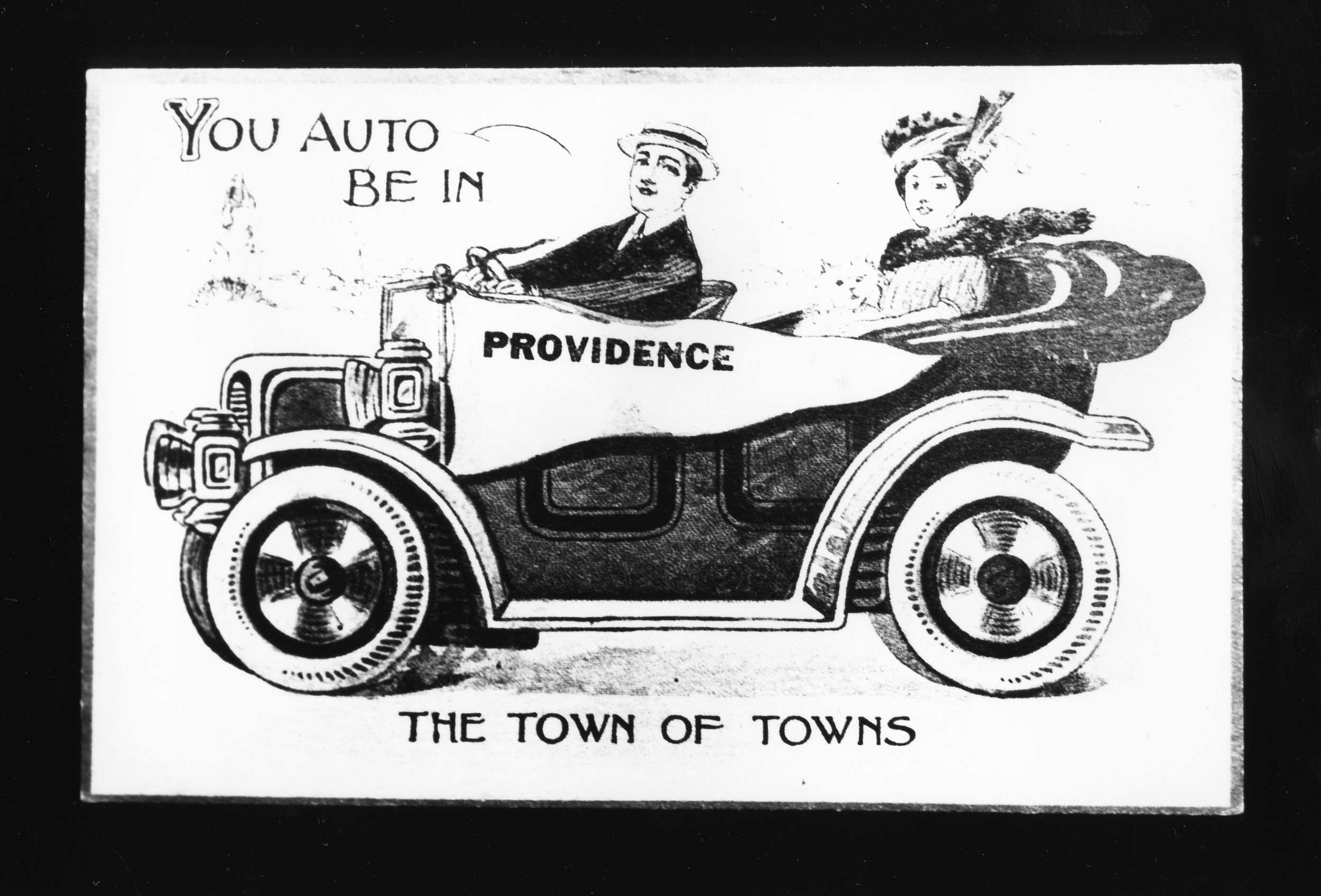Auto be in Providence - Gelatin Silver Print
