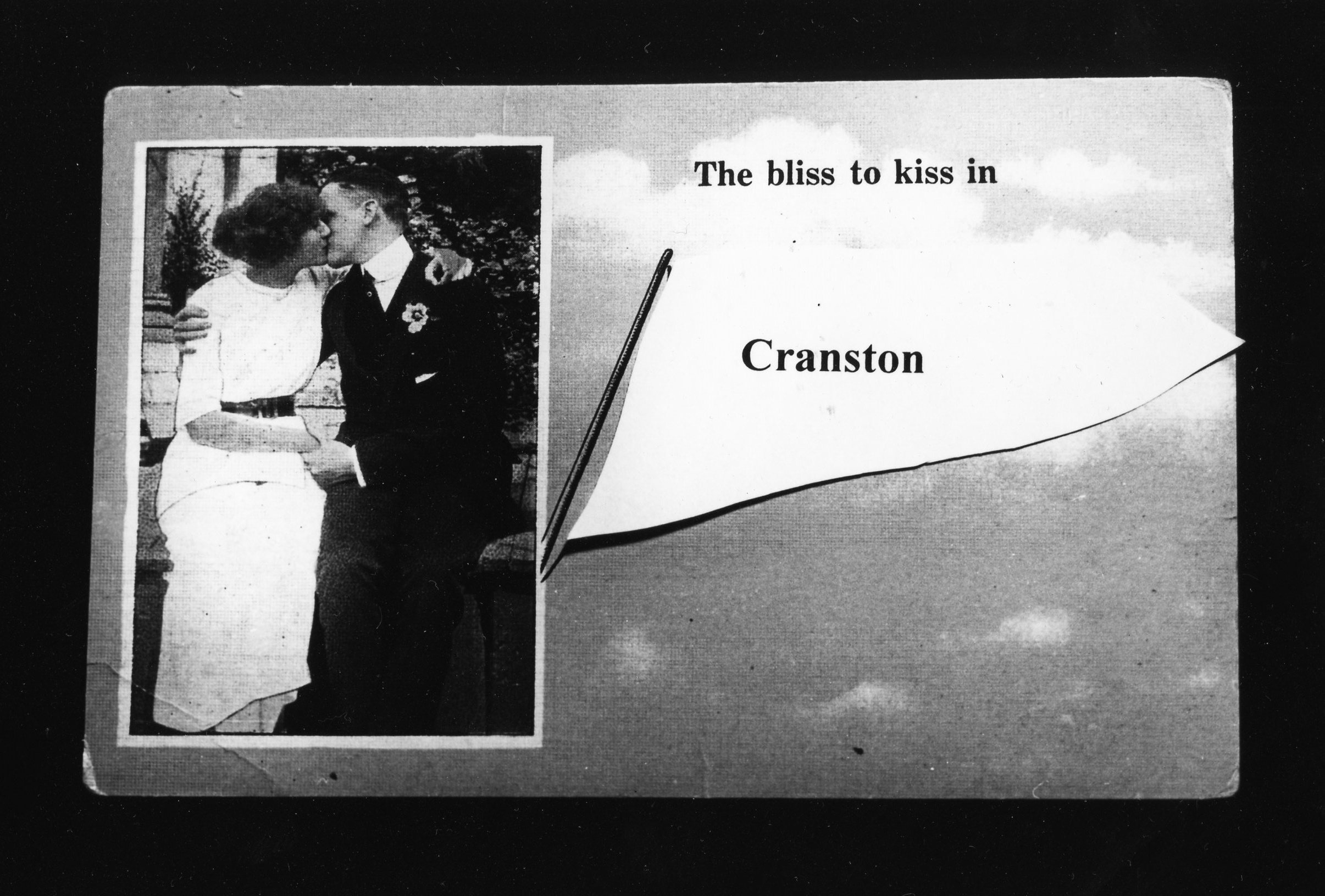 The Bliss to Kiss - Gelatin Silver Print