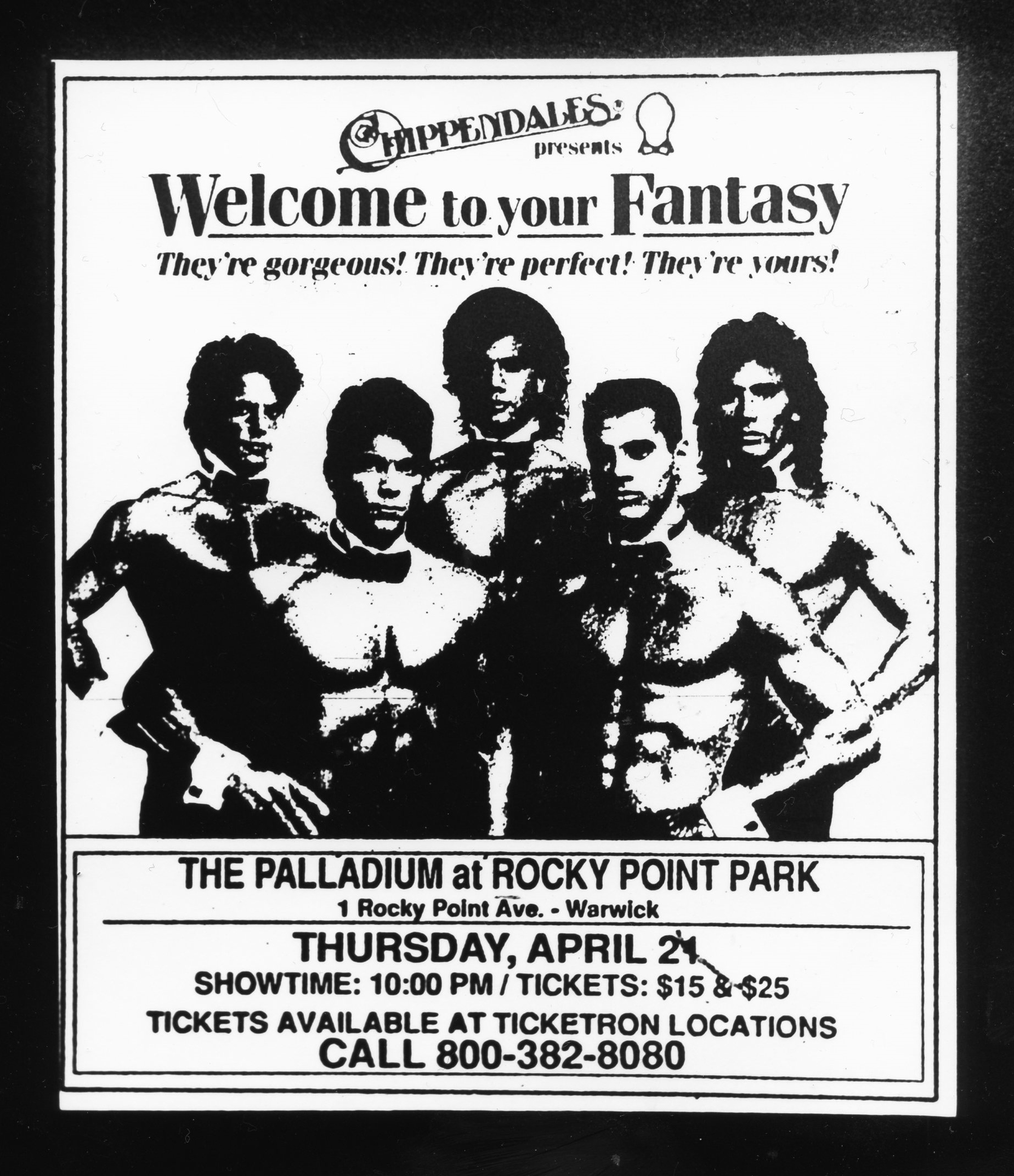 Welcome to Your Fantasy - Gelatin Silver Print