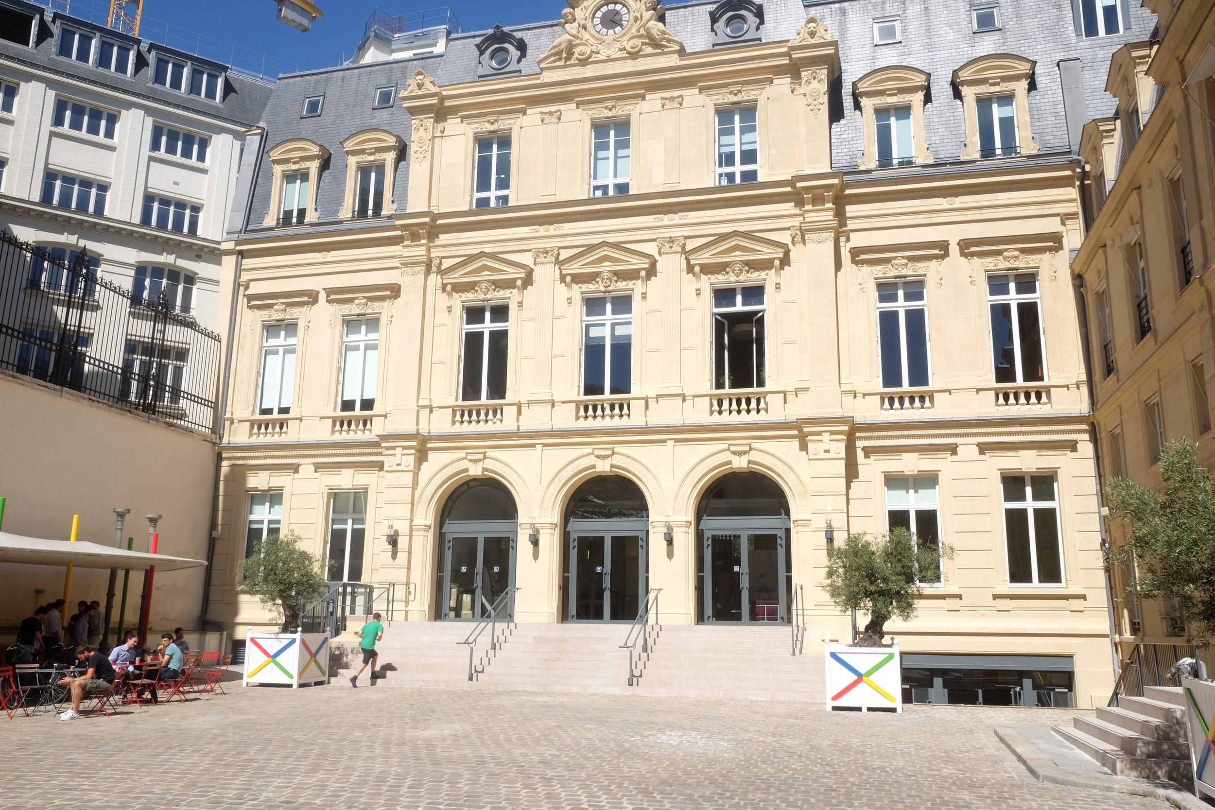 Google Cultural Institute Paris