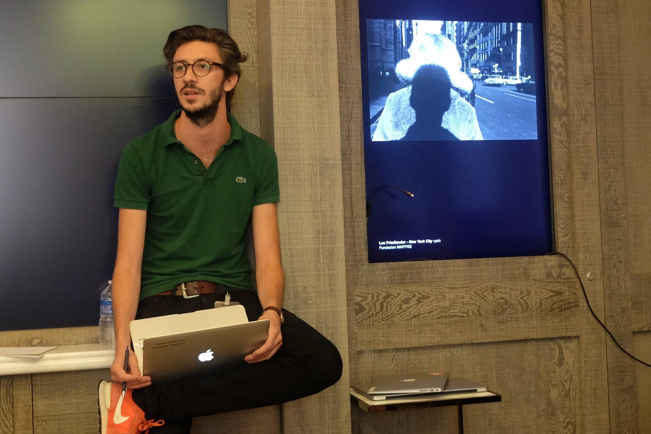 Lab-Produktmanager Pierre Caessa