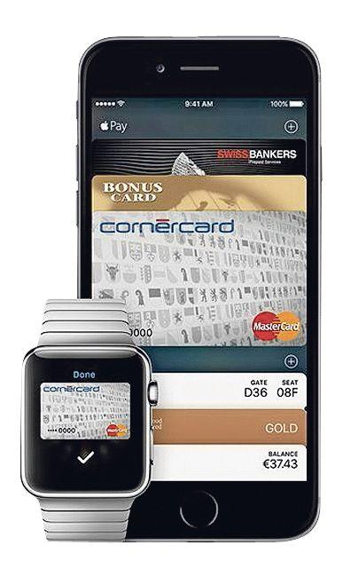 iPhone weg - CornerBank-Kundendienst von Apple Pay überfordert      SonntagsZeitung, 11. September 2016