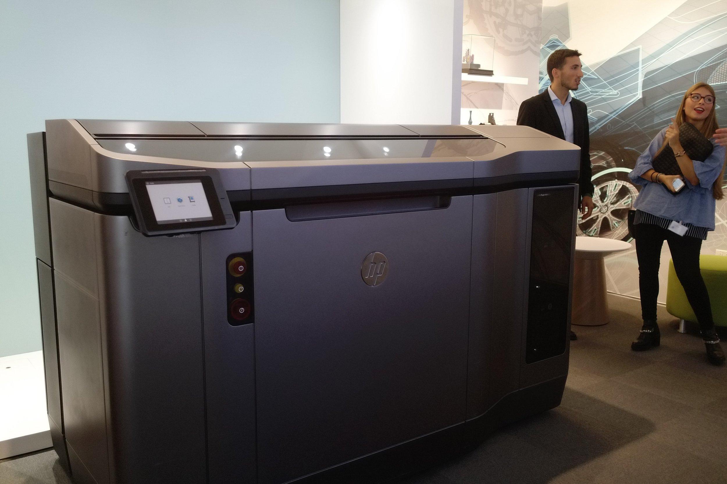 HP Jet Fusion 3-D-Drucker.