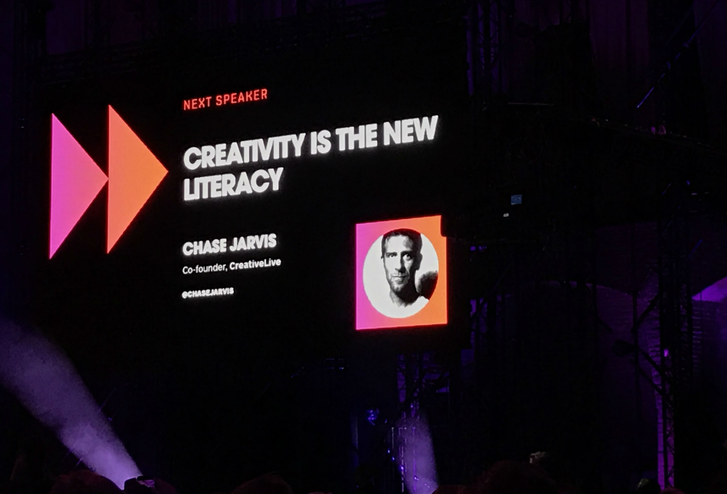 Chase Jarvis, Creative Live