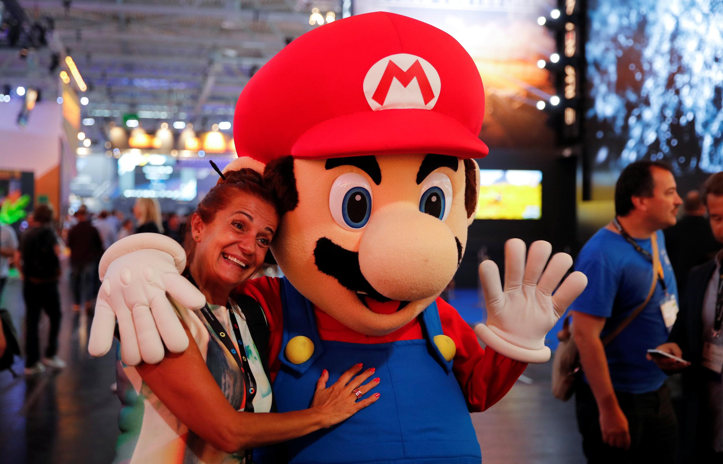 Gamescom 2017:  Nintendos Odyssee ist zu Ende.  Der japanische Spielkonsolenhersteller hats geschafft. Die neue Switch ist ein Renner (Bild: Reuters)   SonntagsZeitung, 27.8.2017