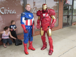 Little known fact: The rift between Cap and Iron Man started because Iron Man ducked out on the bill after Chinese.