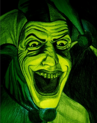 I know that this nasty guy comes from a kids show, but still make sure this is not the last thing you see before you sleep at night.