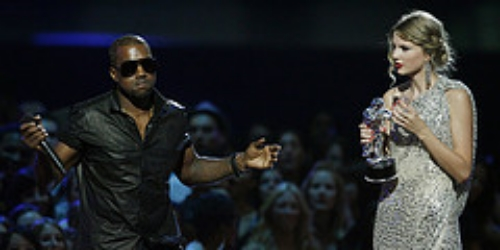 """Hold up, I'mma let you finish..."" Oh no, not again Kanye."