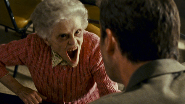 """""""Demon-Granny is gonna take a bite outta crime!"""""""