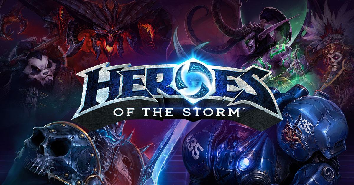 Arena brawler with Blizzard's finest? HELL YEAH!