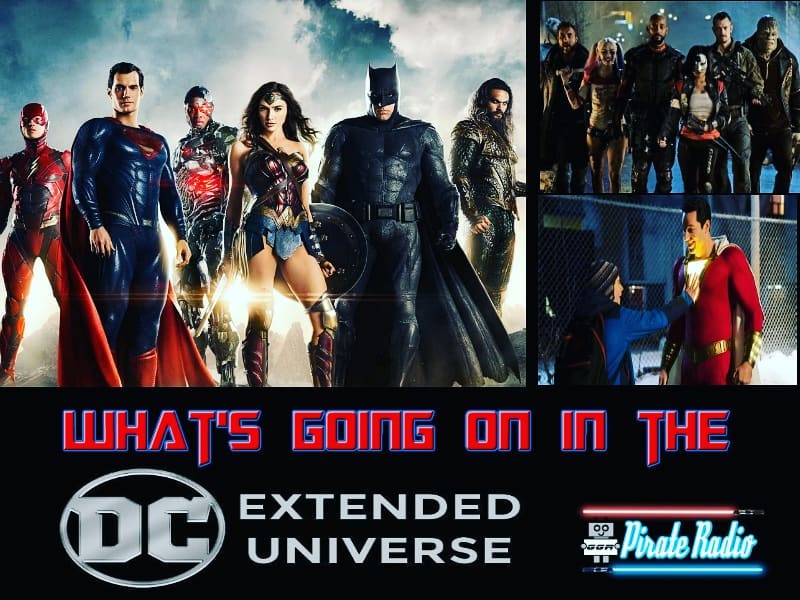 What's Going On In the DCEU? — The Great Geek Refuge