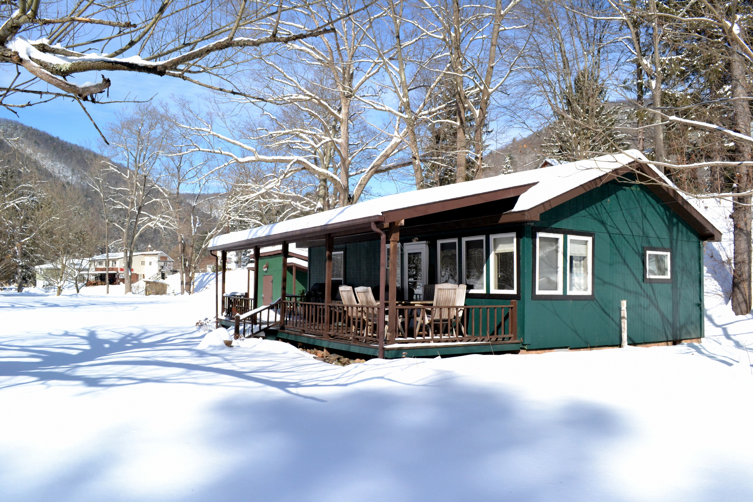 Year round stays are available.