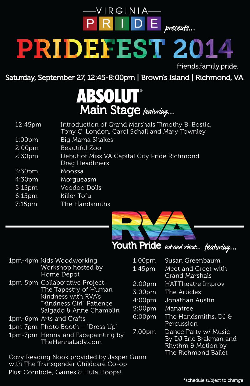 Pridefest Entertainment