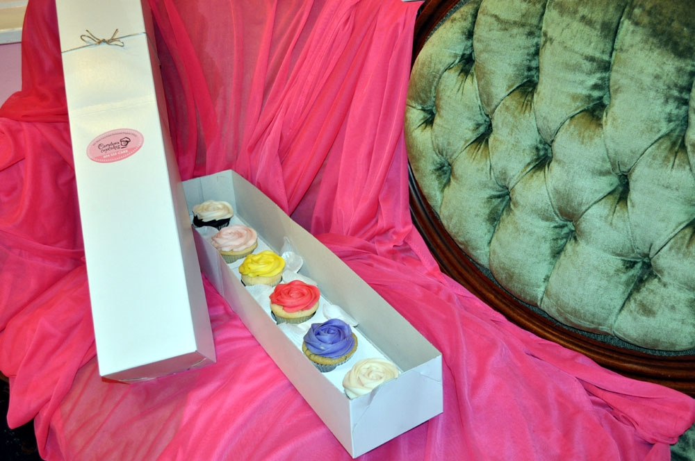 Carytown Cupcakes has a delicious photo booth for Valentine's Day. Photo credit: Carytown Cupcakes