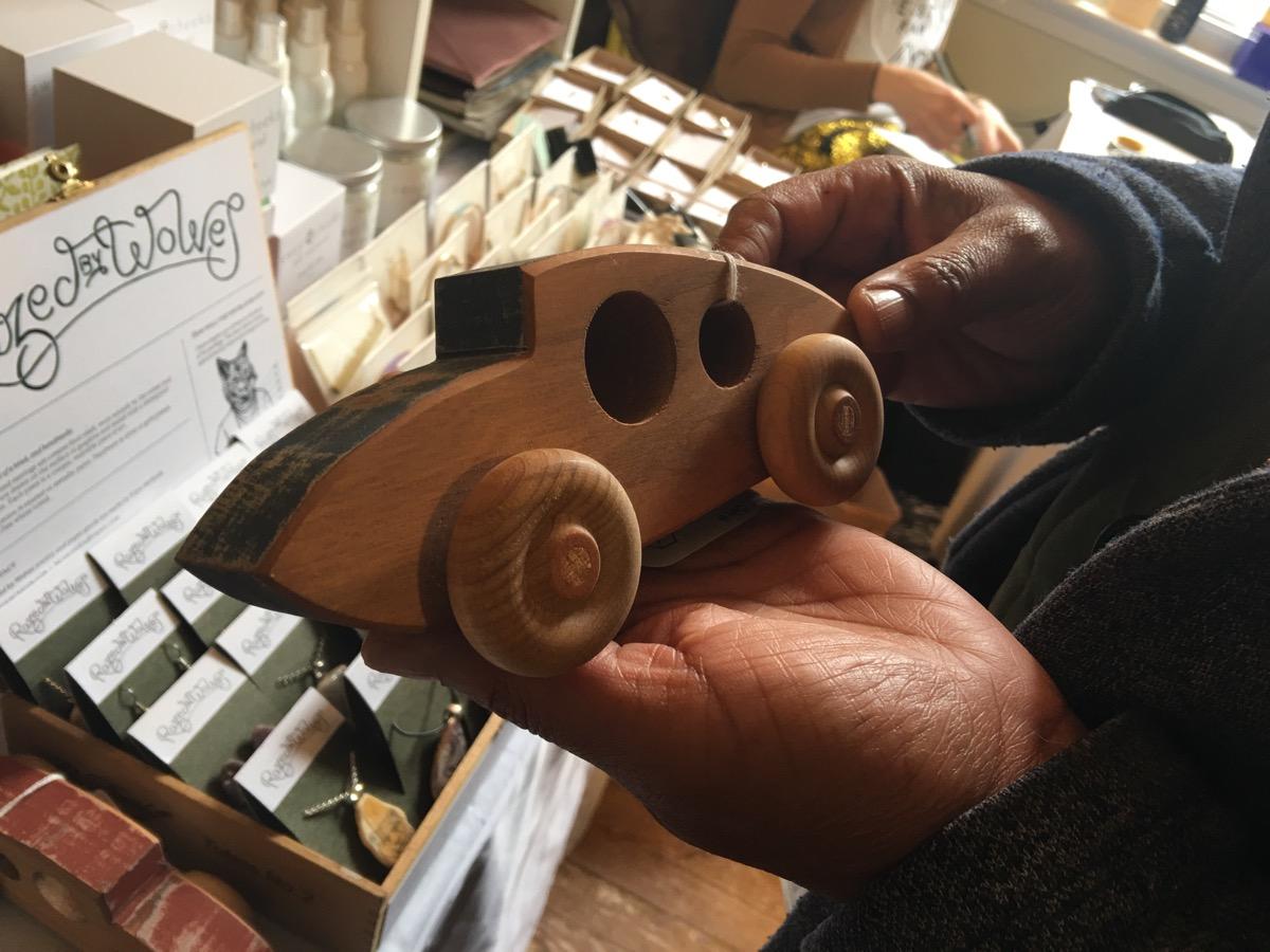 Handmade Toy Car