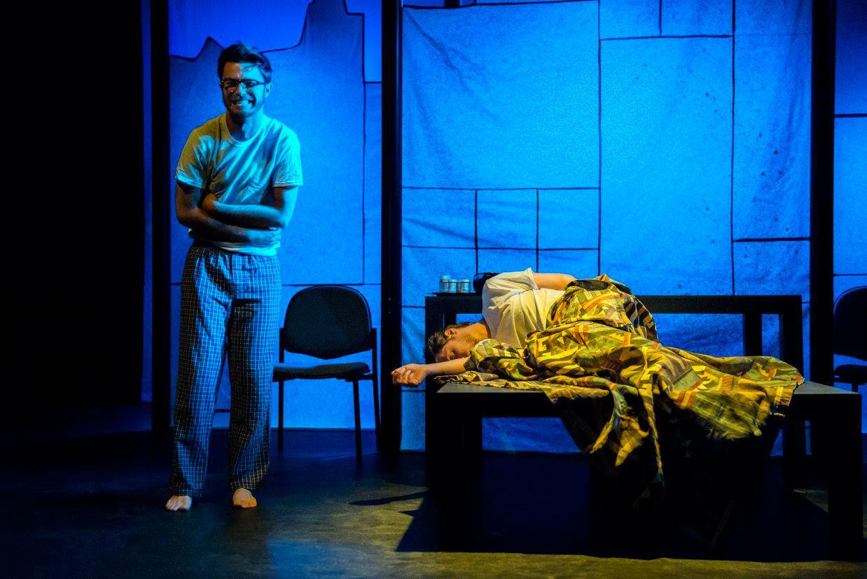 Deejay Gray with Matt Shofner; ANGELS IN AMERICA, Richmond Triangle Players - Best Ensemble Nomination, 2015 Richmond Theatre Critics Circle Awards