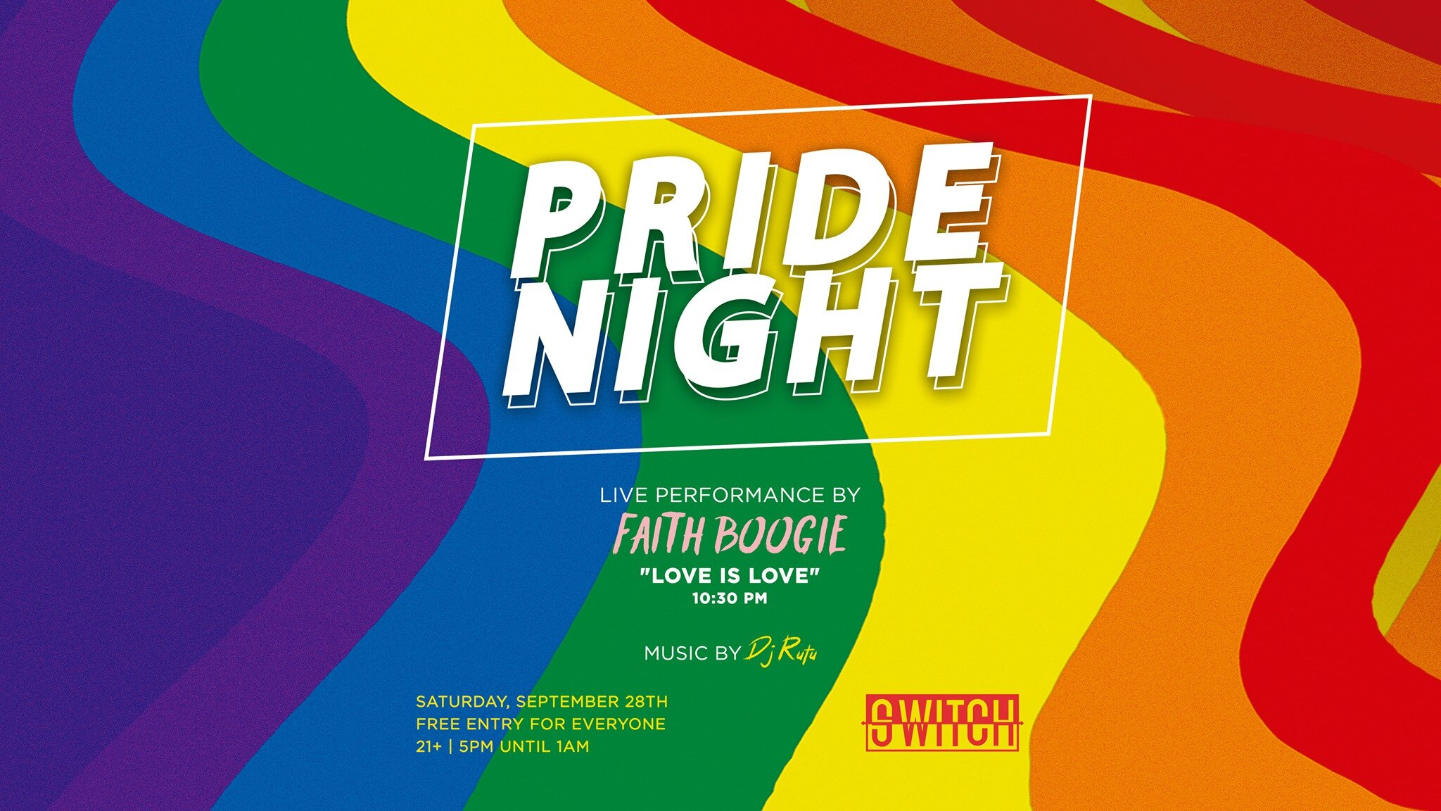 Pride Night at SWITCH