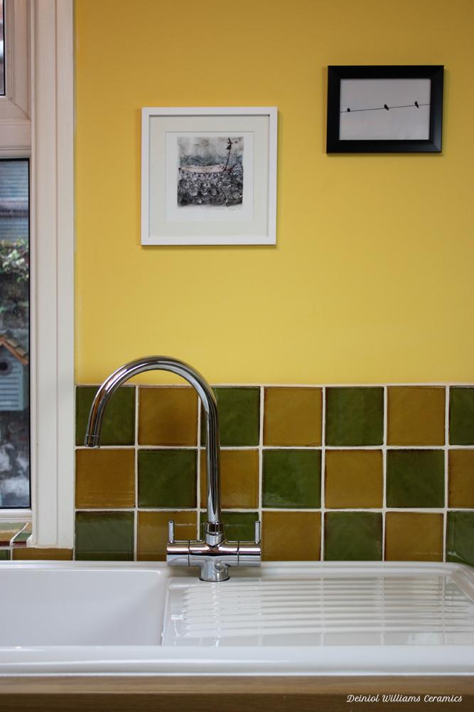 Green & Yellow Wall Tiles | Traditional Range