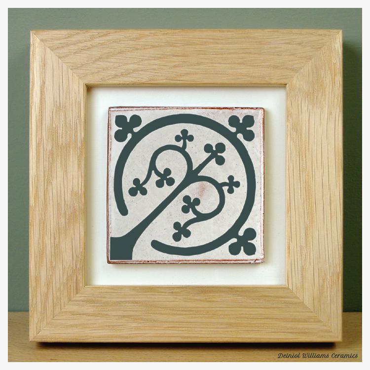 'Tree of Life' Framed Tile