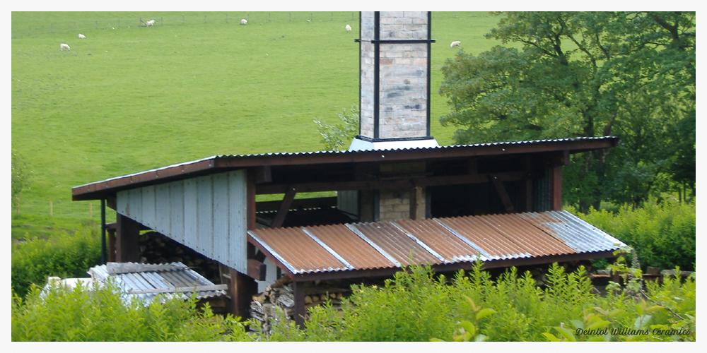 The Bryn Hyfryd Woodfiring Kiln - Construction