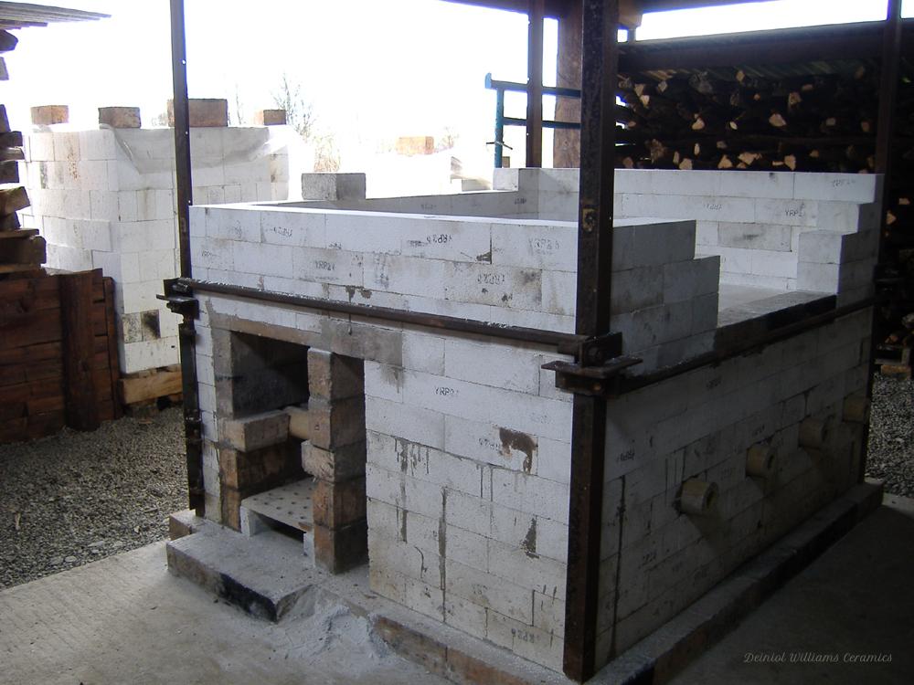 Woodkiln chamber construction