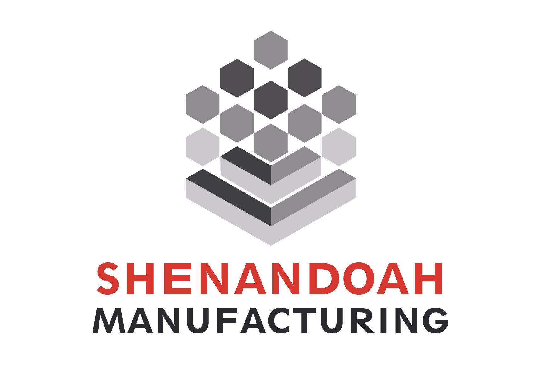 Original logo design for Shenandoah Manufacturing, located in Newnan, Georgia