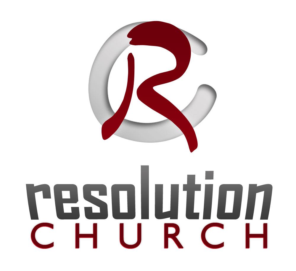 Logo design for Resolution Church in McDonough, Ga.