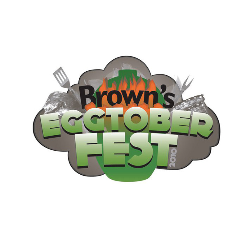Special event logo for Browns Pools.