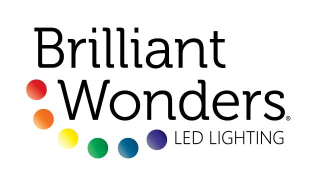 Logo design for Brilliant Wonders brand LED Lighting.