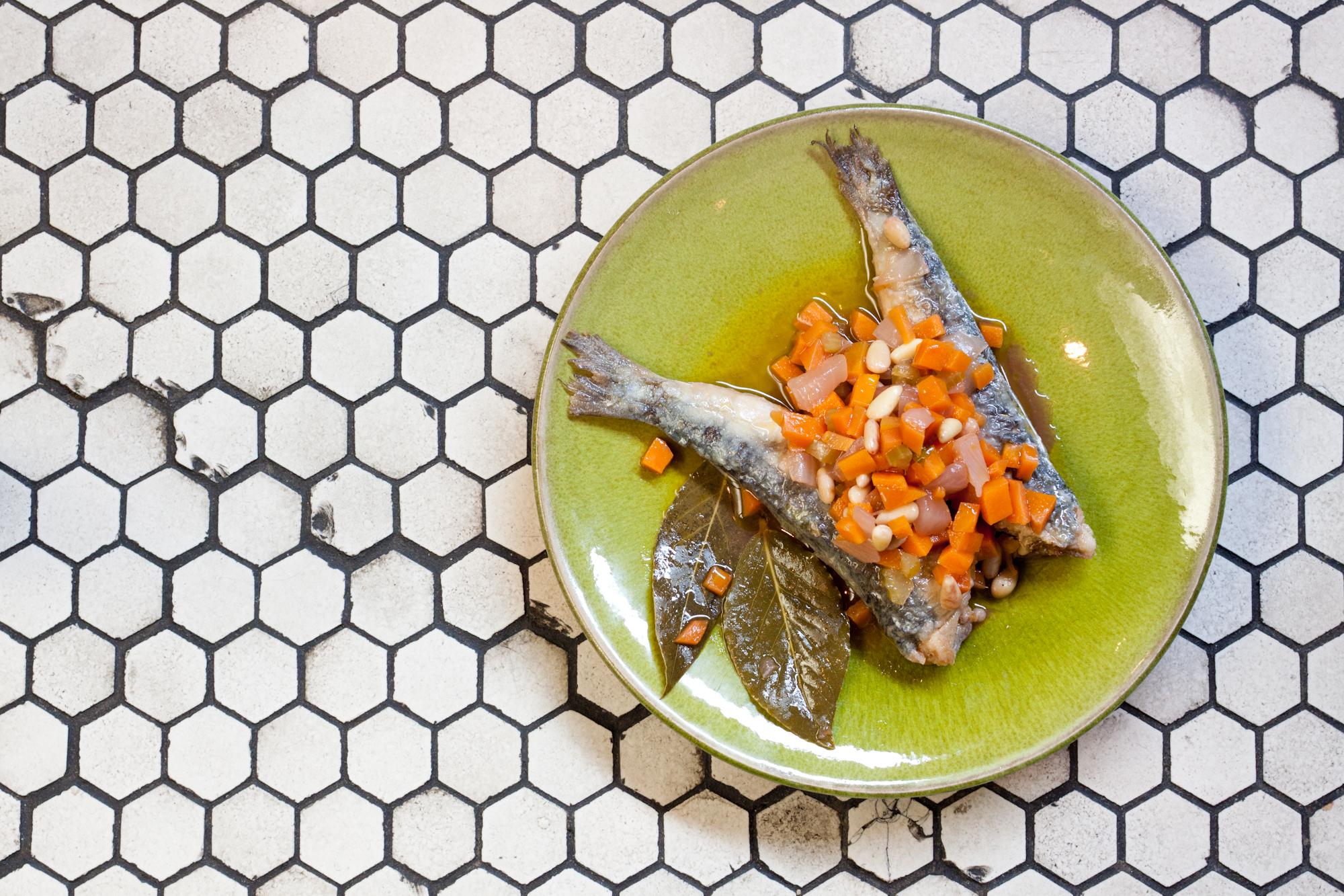 Venetian sardines antipasti