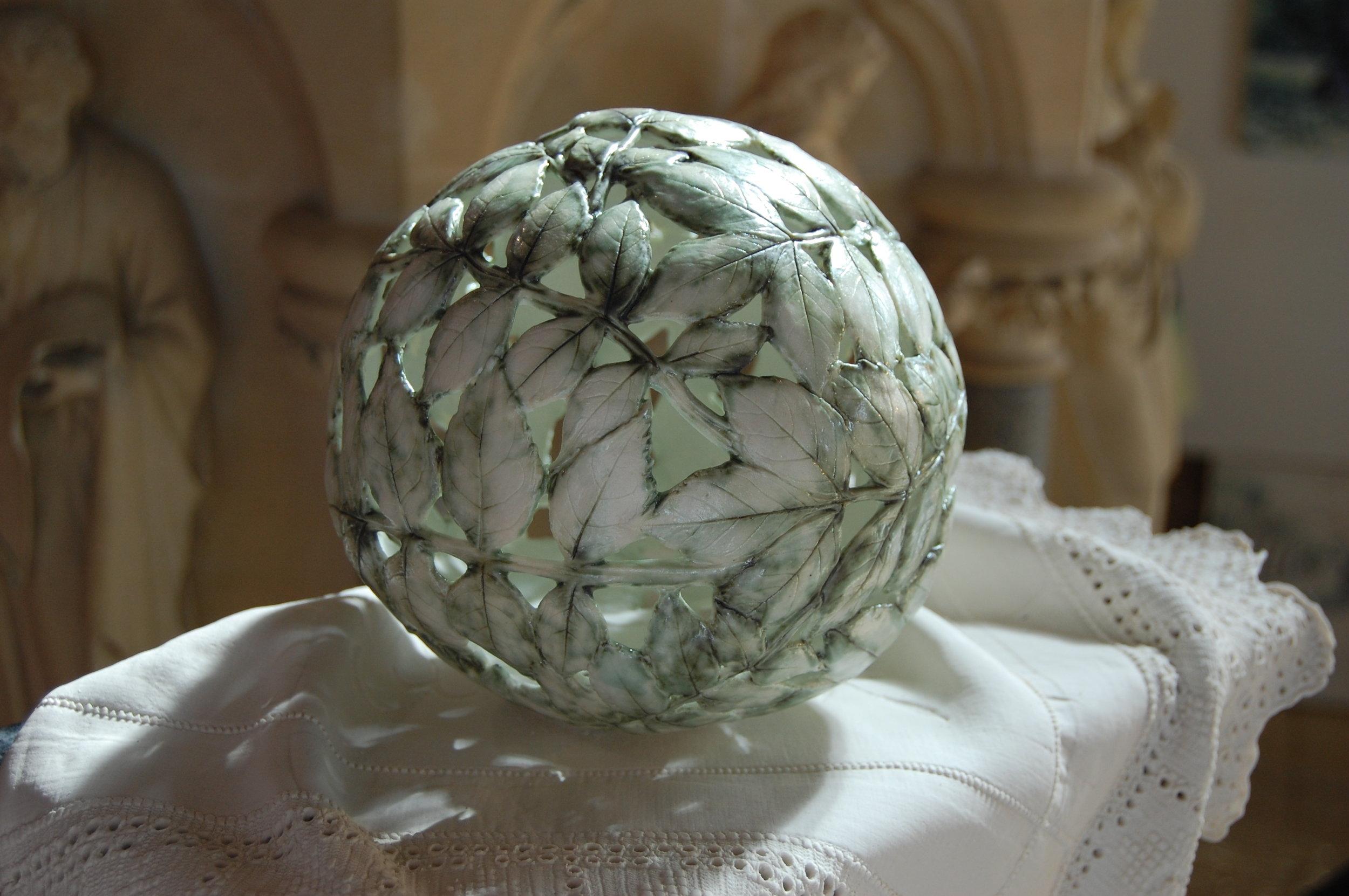 Fragile World I, porcelain