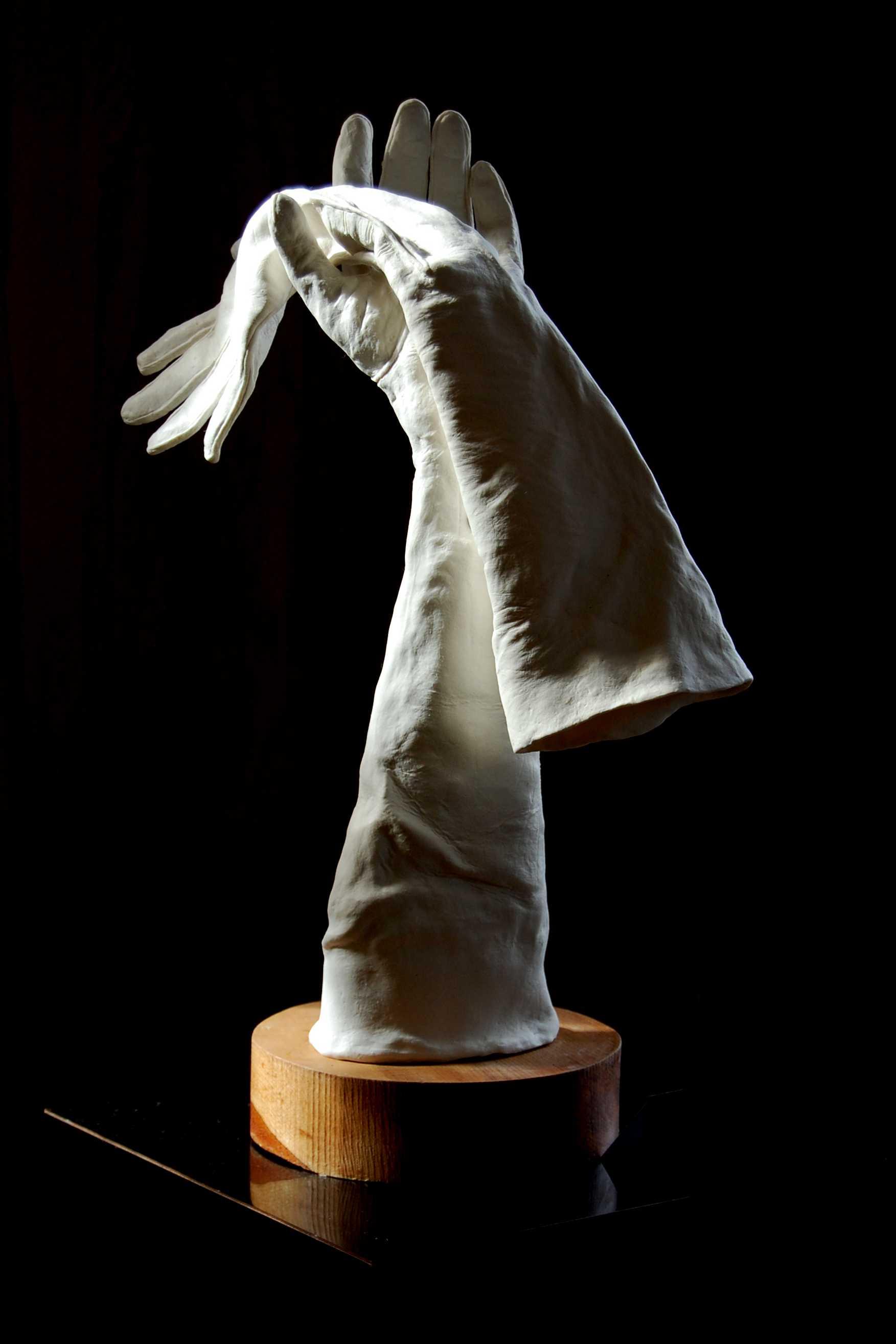 Hand in Glove, porcelain