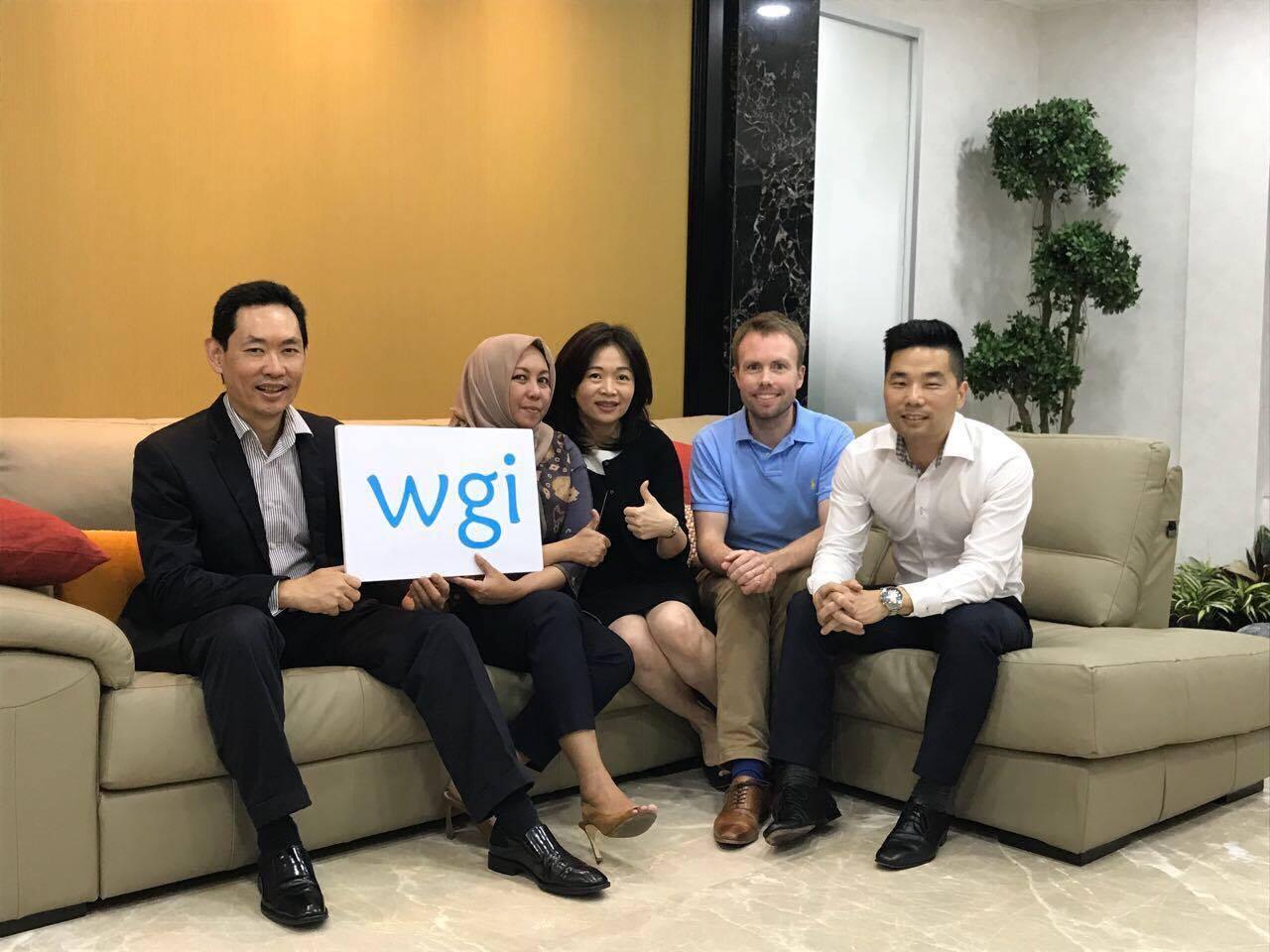Founding Board of Directors of WGI Indonesia: Charles Yong, Anggiasari Hindratmo, Mina Ondang, Peter Haarmark, & Christoph Choi.