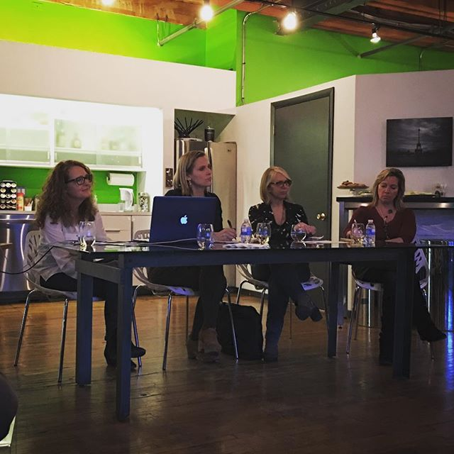 Thanks to the panelists at the first Women in Film Editors Round Table event in Chicago @cerise_films. And of course thanks to everyone who came! It was an inspiring night.