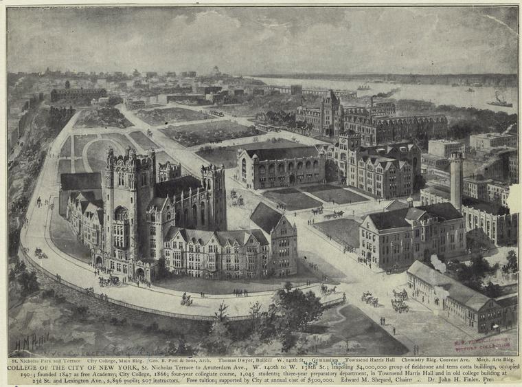 CCNY Campus 1903