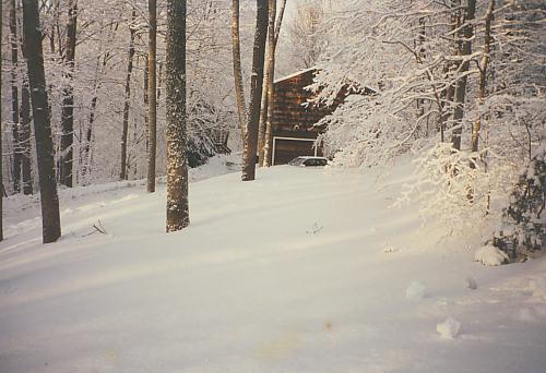 My childhood home. Photograph courtesy of Barbara Gottlieb (mom)