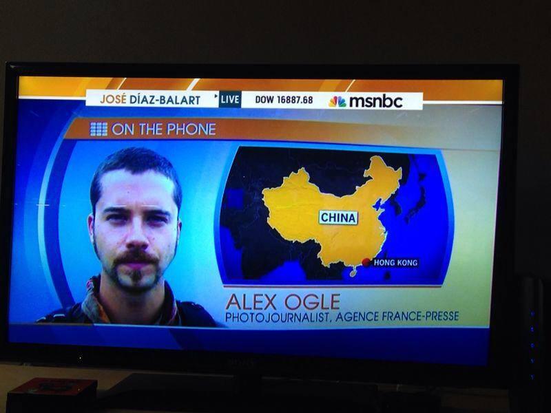 Phone interview MSNBC