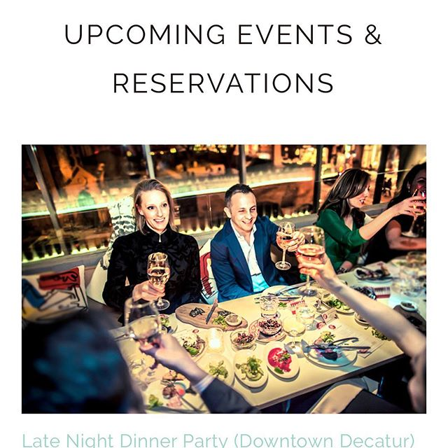 Tickets have been released! Visit hushdinnerclub.com/reservations to Join us this Monday! - Link in bio.