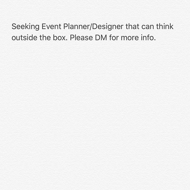 Please DM for more info.