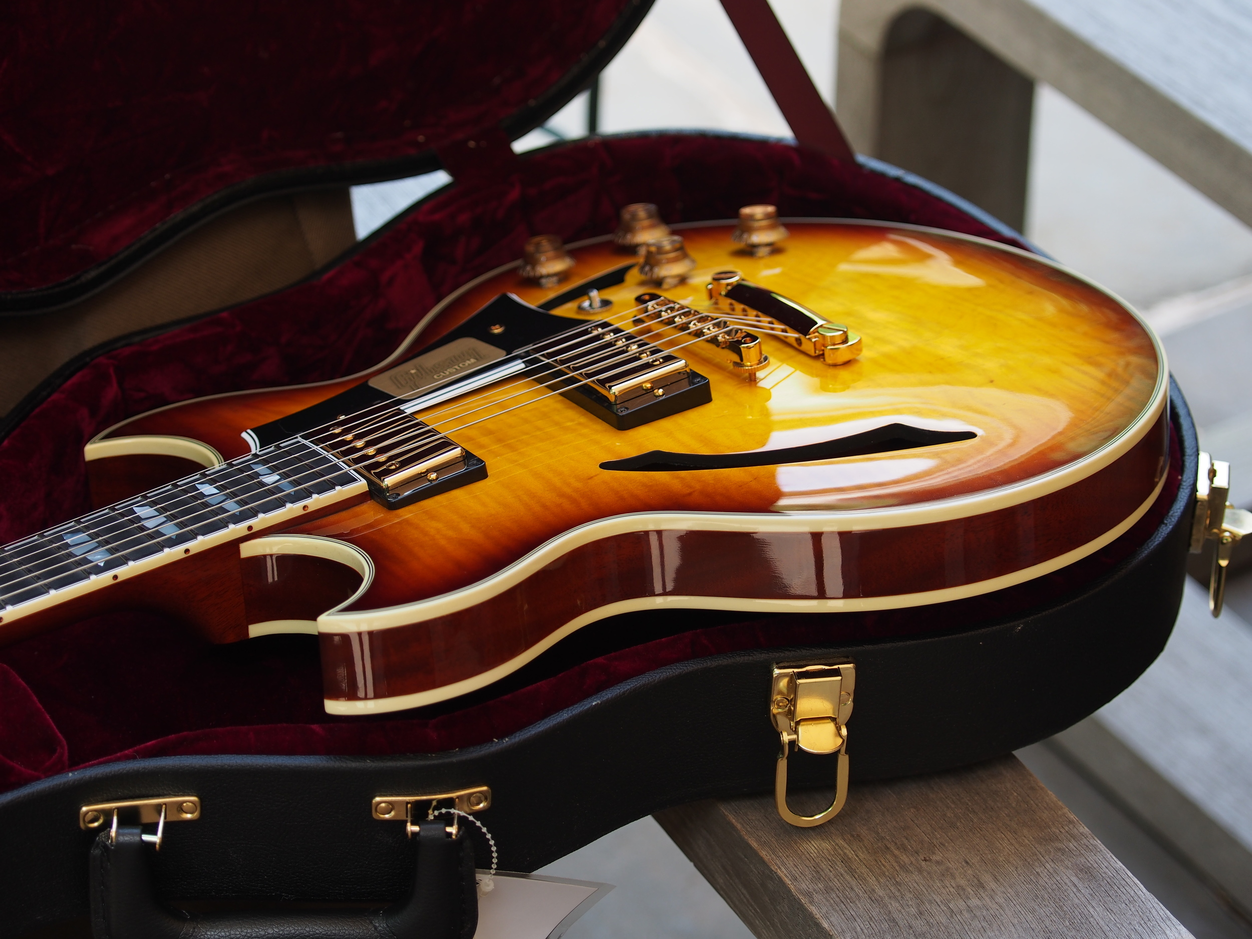 2014 Gibson Custom Shop Johnny A. Semi-Hollow Thin Body Archtop- the last one manufactured- sold.