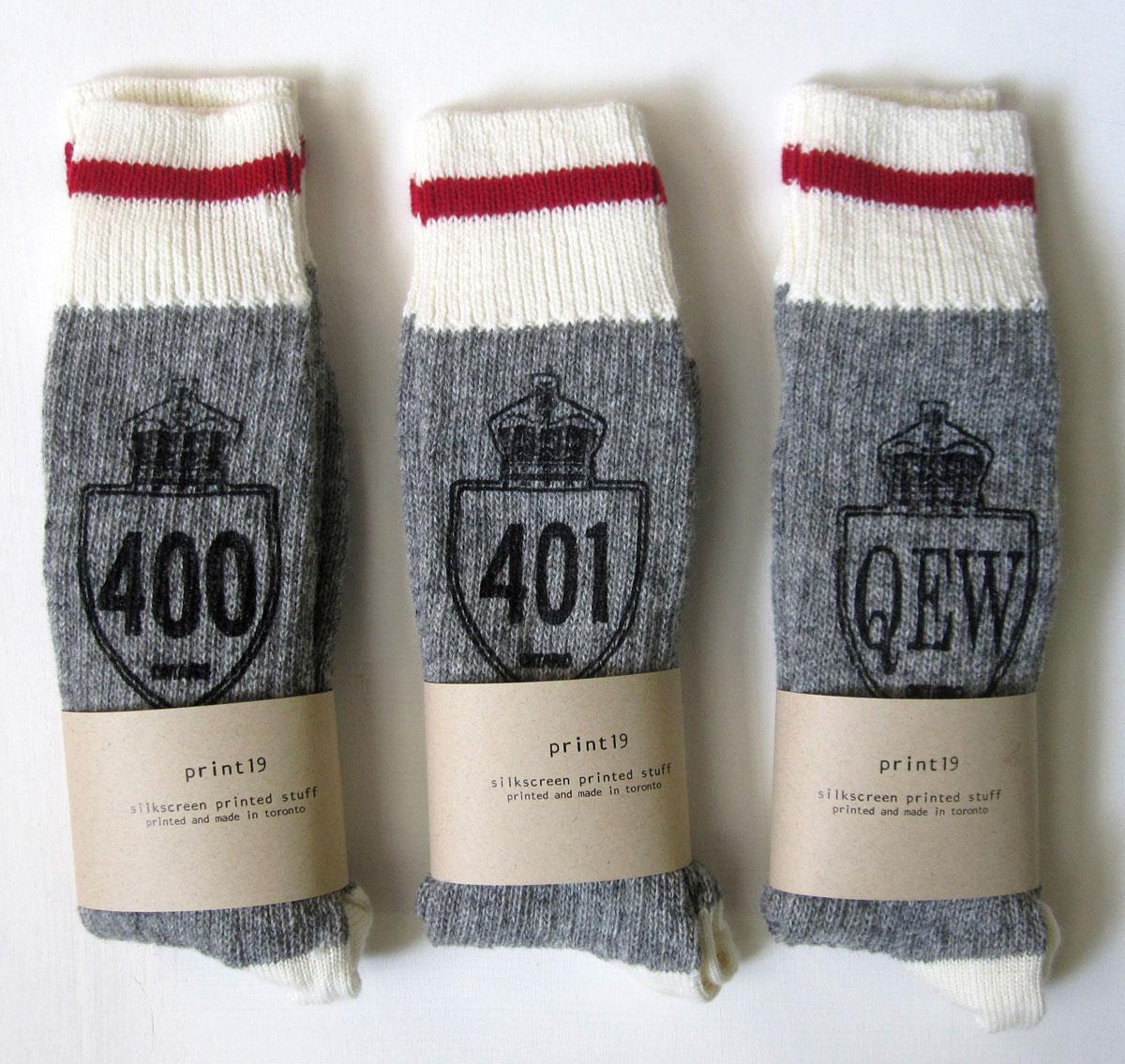 Highway Socks