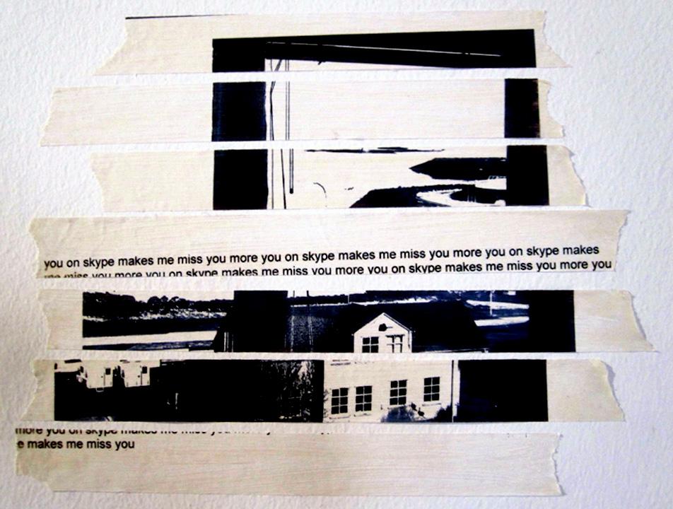 Prints on tape.