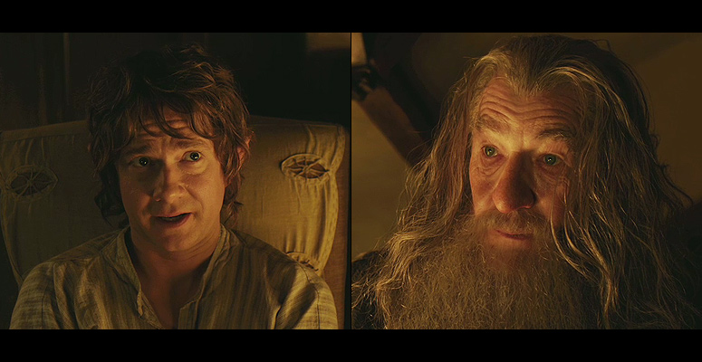 Bilbo   : Can you promise that I will come back?  Gandalf : No. And if you do, you'll not be the same.