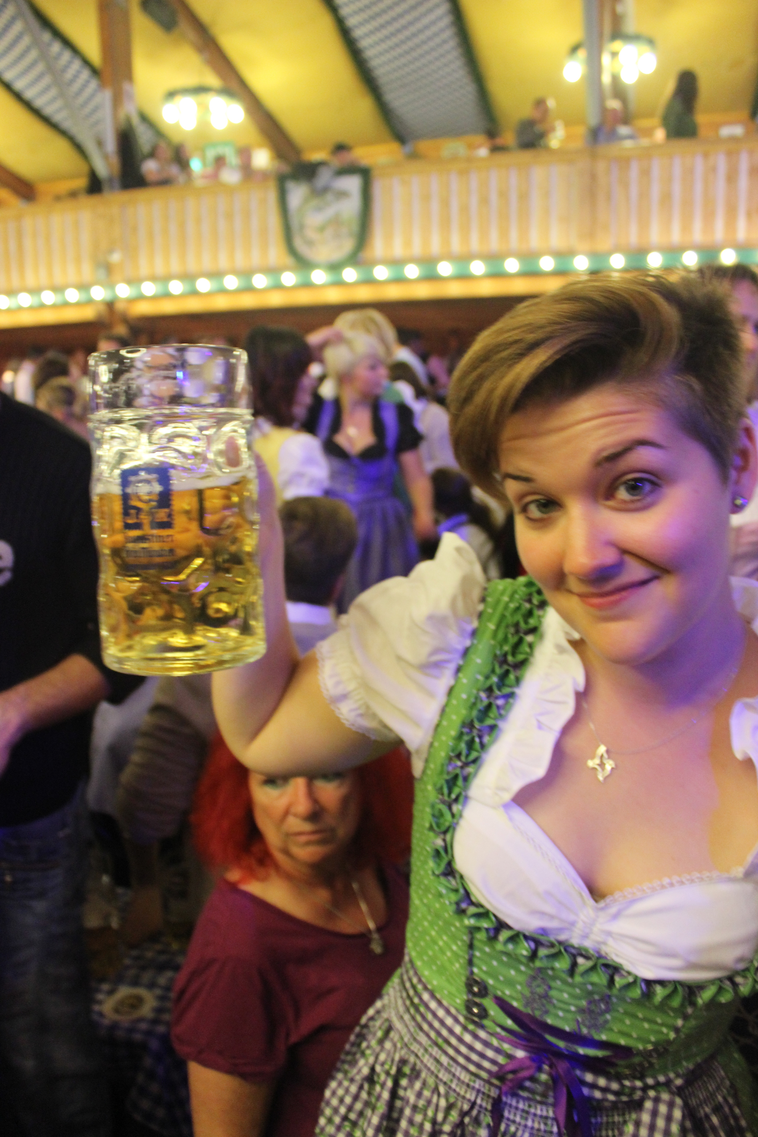 Yea, I probably would not have gotten much additional use out of this dirndl :)