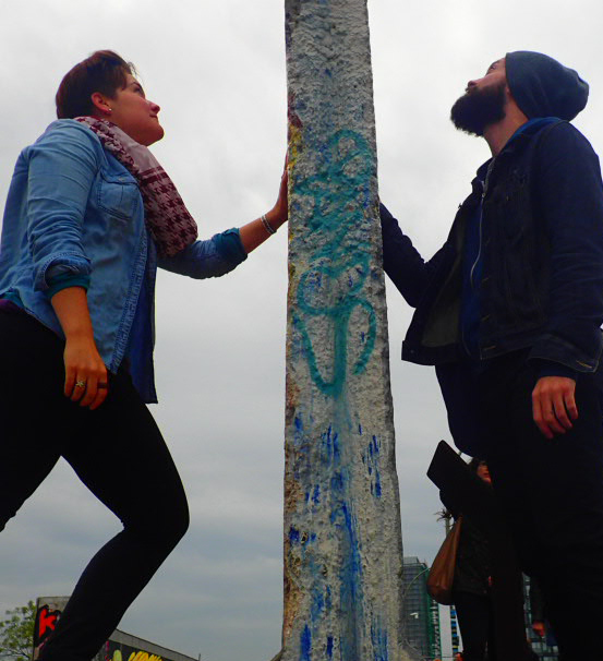 The Berlin Wall with Frank