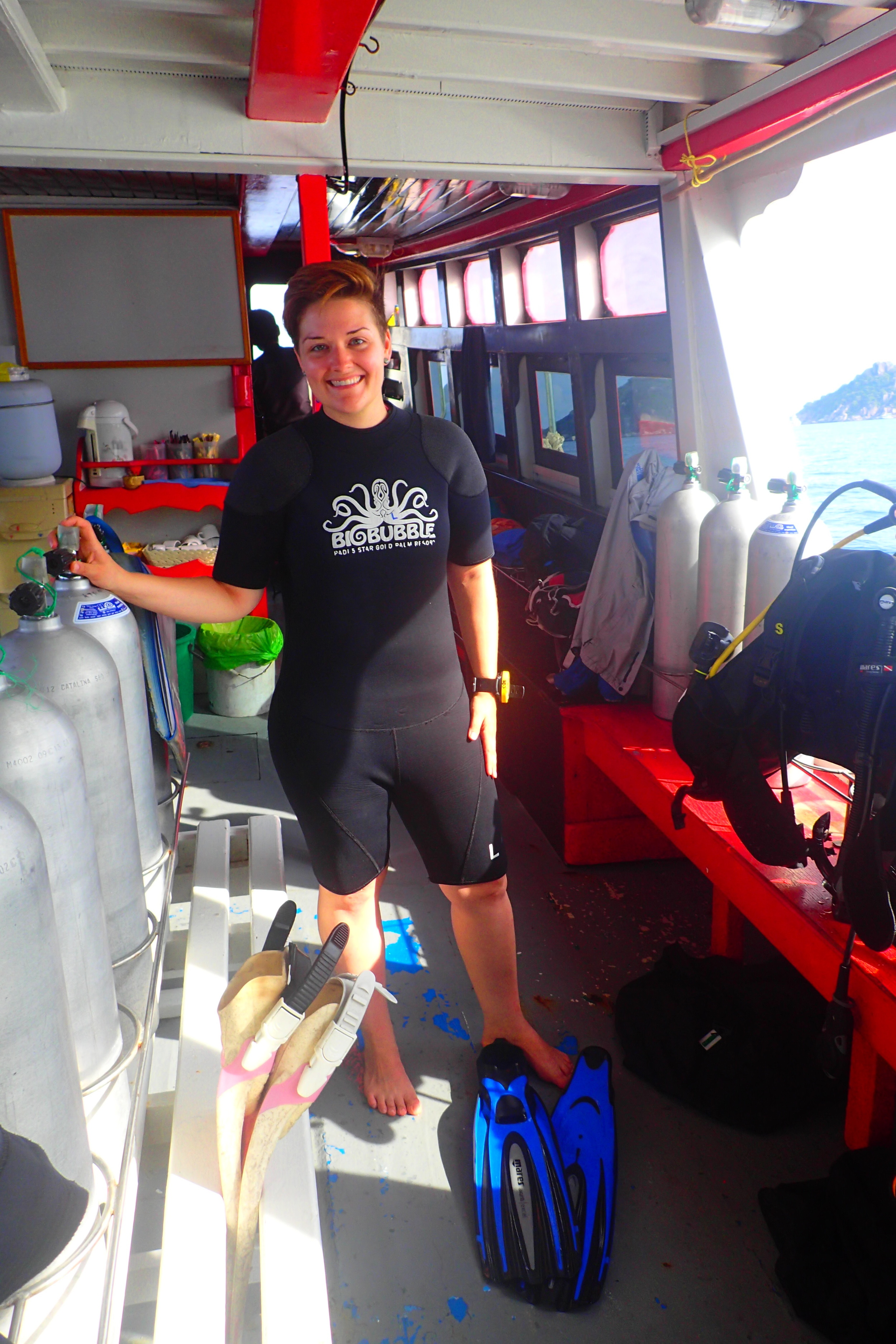 I was lucky enough to get one-on-one SCUBA training despite visiting Thailand at the beginning of high season!