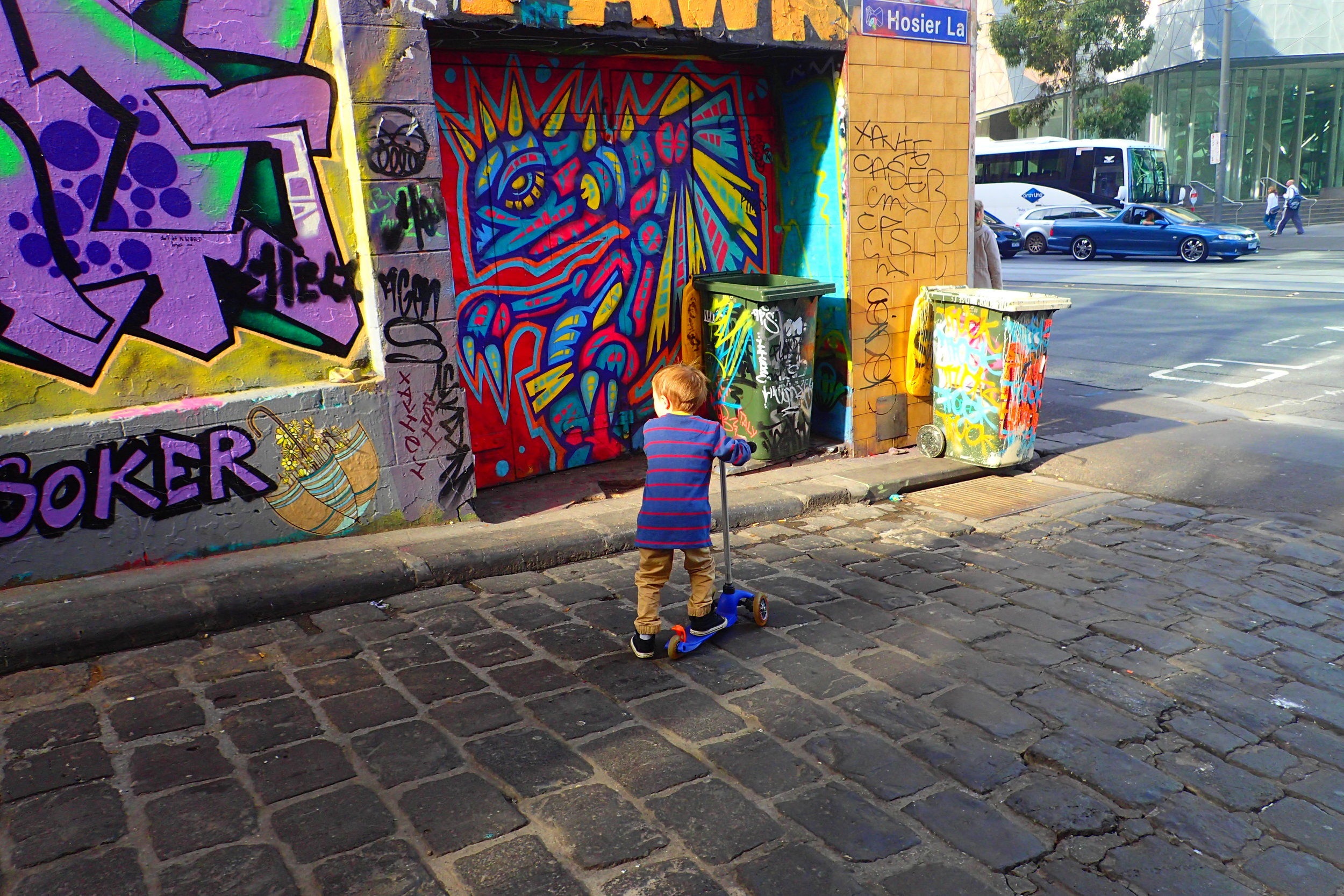 This kid has figured out a life on-the-go! (Australia)